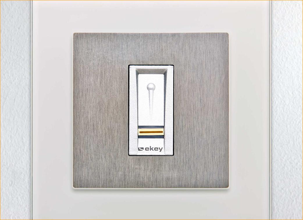 smart home ekey einbindung in das gira knx bussystem w sterstrom. Black Bedroom Furniture Sets. Home Design Ideas
