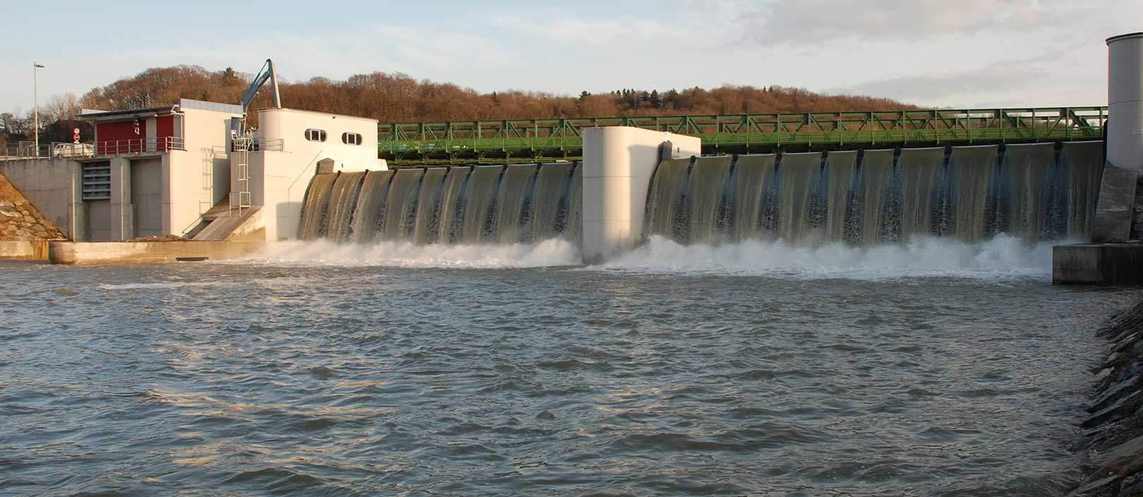 Vollbetrieb des neuen Kraftwerkes