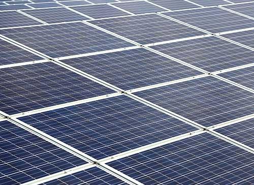 Fertigstellung Photovoltaikanlage