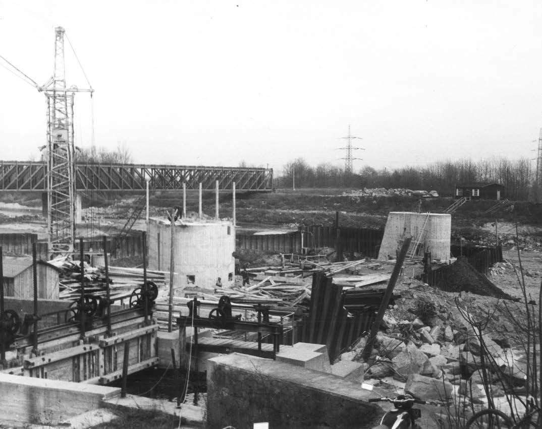 Wiederaufbau der Kemmelbachwehr