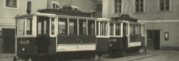 Bau einer elektrischen Straßenbahn