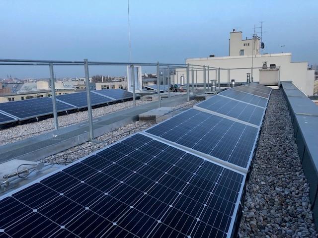 Photovoltaikanlage Ottakring